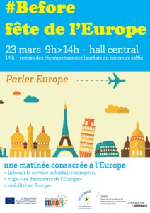 Before Fête de l'Europe – 23 mars 2017 « Parler Europe »